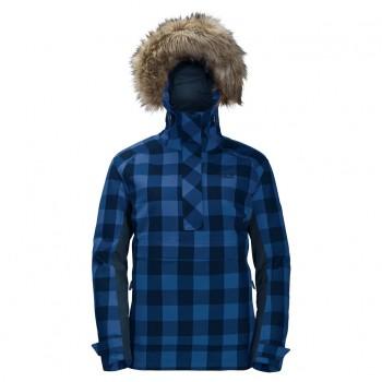 Фото Куртка утепленная TIMBERWOLF WOMEN (1109881-7822), Цвет - темно-синий в клетку, Городские