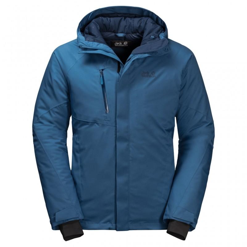 Купить Городские куртки, Пуховик синтетический troposphere jacket m (1111711-1130), Jack Wolfskin, Синий, Осень, Зима, Осень-Зима 2019-2020