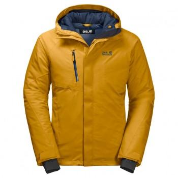 Фото Пуховик синтетический TROPOSPHERE JACKET M (1111711-3015), Цвет - желтый, Городские куртки