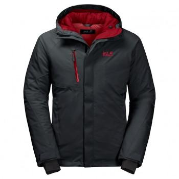 Фото Пуховик синтетический TROPOSPHERE JACKET M (1111711-6350), Цвет - темно-серый, Городские куртки