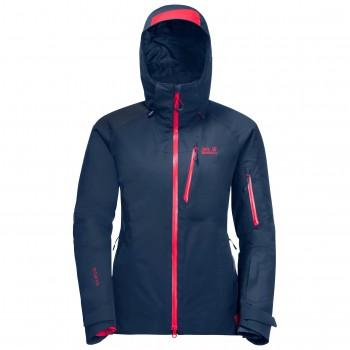Фото Горнолыжная куртка SNOW SUMMIT JACKET W (1113541-1024), Цвет - индиго, Горнолыжные