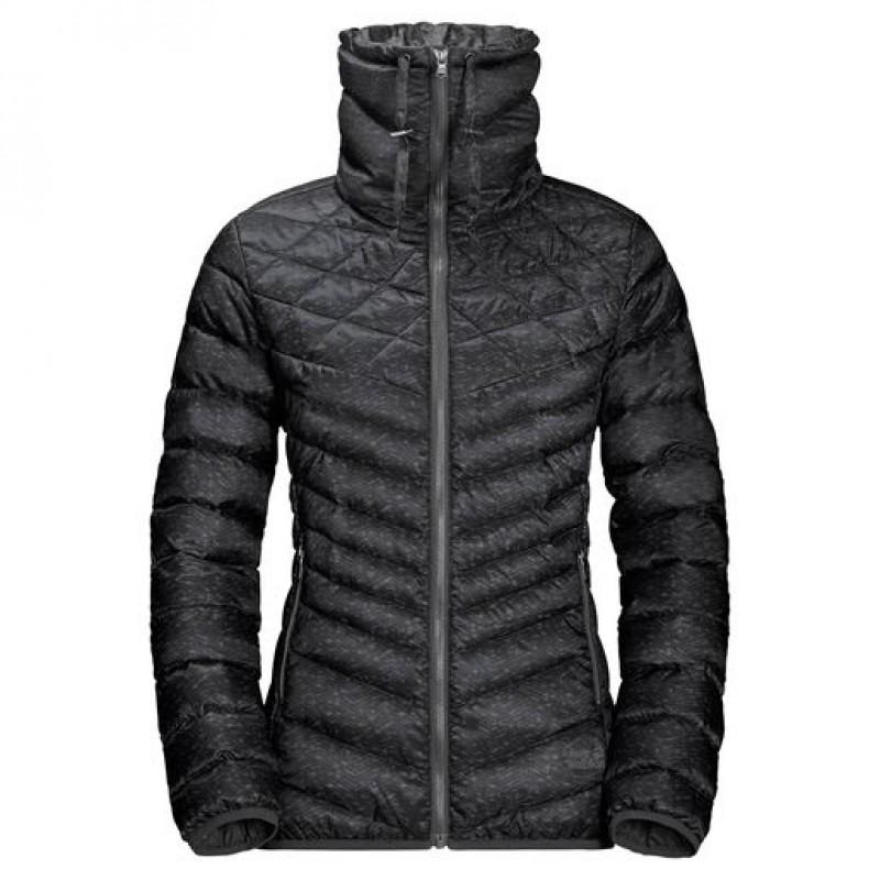 Купить Пуховики, Пуховик richmond hill jacket (1203491-6000), Jack Wolfskin, Черный, Осень, Весна, Осень-Зима 2017-2018