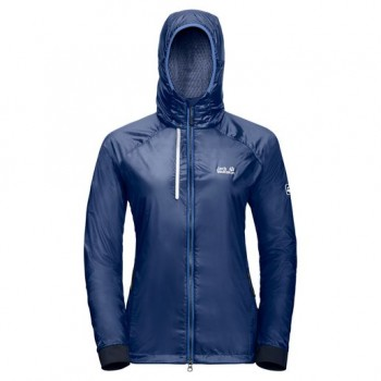 Фото Куртка спорт AIR LOCK JACKET WOMEN (1203681-1505), Цвет - синий, Ветровки