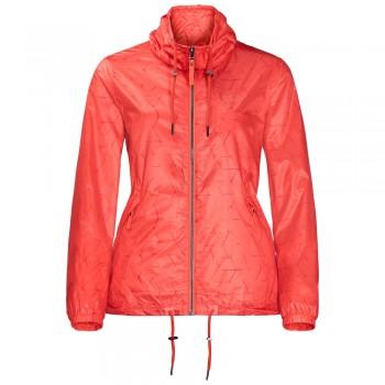 Фото Ветровка Shibori Jacket (1305421-7743), Цвет - коралловый, Ветровки городские