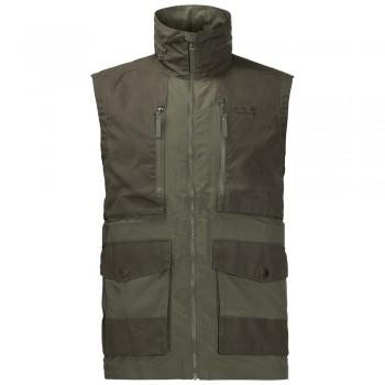 Фото Жилет Barstow Vest Men (1305771-5052), Цвет - зеленый, Жилетки