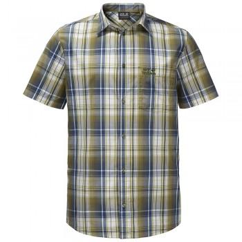 Фото Тенниска Hot Chili Shirt Men (1400244-7531), Цвет - оливковый, Короткий рукав