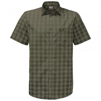 Фото Тенниска Hot Springs Shirt (1402331-7825), Цвет - зеленый, Короткий рукав