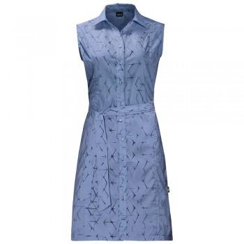 Фото Платье Sonora Shibori Dress (1504002-7714), Цвет - голубой, Платья