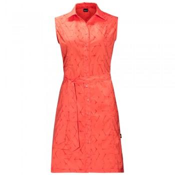 Фото Платье Sonora Shibori Dress (1504002-7743), Цвет - коралловый, Платья