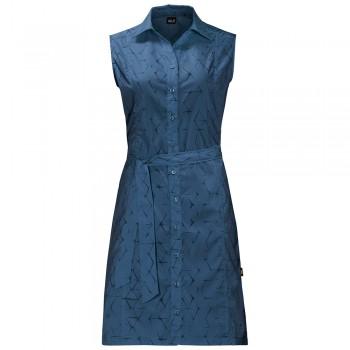 Фото Платье Sonora Shibori Dress (1504002-7863), Цвет - синий, Платья