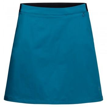 Фото Юбка HILLTOP TRAIL SKORT W (1505471-1087), Цвет - голубой, Юбки-шорты