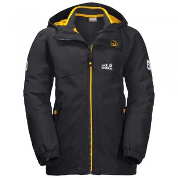 Фото Куртка 3 в 1 B ICELAND 3IN1 JKT (1605254-6350), Цвет - темно-серый, Куртки 3 в 1