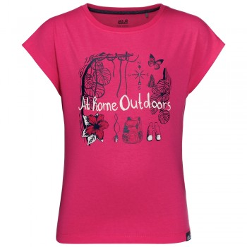 Фото Футболка Brand T Girls (1607261-2145), Цвет - розовый, Футболки