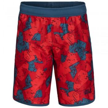 Фото Шорты Marble Shorts Boys (1607311-7978), Цвет - красный, Шорты городские