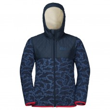 Фліс NORDIC HOODED JACKET KIDS