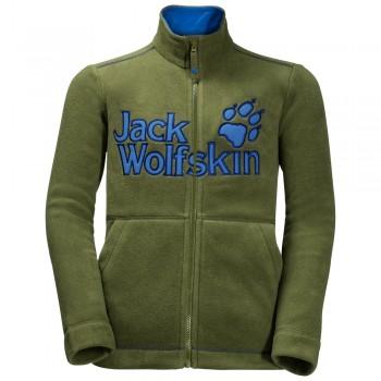 Фото Флис VARGEN JACKET KIDS (1607551-4521), Цвет - зеленый, Флисы