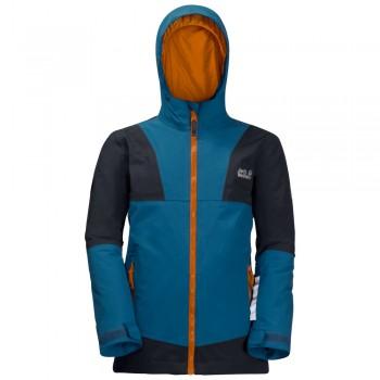 Фото Горнолыжная куртка SNOWSPORT JACKET KIDS (1607601-1121), Цвет - голубой, Горнолыжные и сноубордные