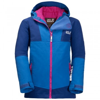 Фото Горнолыжная куртка SNOWSPORT JACKET KIDS (1607601-1201), Цвет - голубой, Горнолыжные и сноубордные