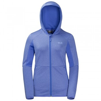 Фото Флис Sutherland Hooded Jkt Women (1705301-1098), Цвет - синий, Флис