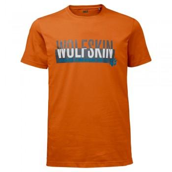 Фото Футболка SLOGAN T MEN (1805641-3062), Цвет - оранжевый, Футболки