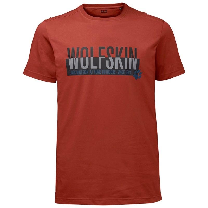 Jack Wolfskin / Футболка slogan t men (1805641-3740)