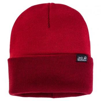 Фото Шапка RIB HAT (1903891-2210), Цвет - красный, Шапки и повязки