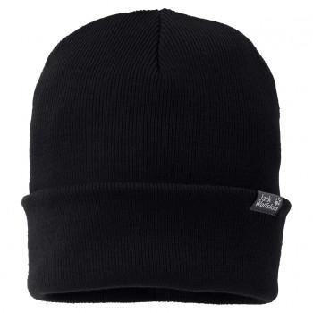 Фото Шапка RIB HAT (1903891-6000), Цвет - черный, Шапки и повязки