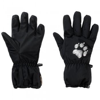 Фото Горнолыжные перчатки TEXAPORE SNOW GLOVE KIDS (1907271-6000), Цвет - черный, Горнолыжные перчатки