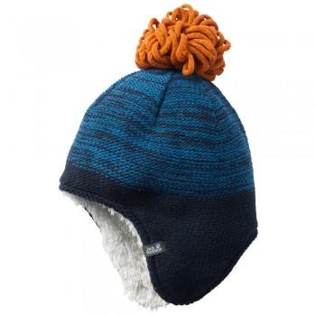 Фото Шапка SNOWFLAKE CAP KIDS (1907451-1121), Цвет - голубой, Шапки и повязки