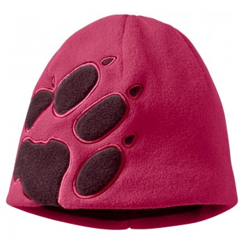 Фото Шапка FRONT PAW HAT KIDS (19424-2081), Цвет - темно-розовый, Шапки и повязки