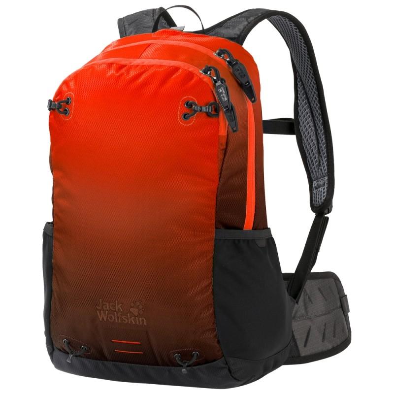 Купить Городские рюкзаки, Рюкзак halo 22 pack (2007221-8024), Jack Wolfskin, красный, Мультисезон, Весна-Лето 2019