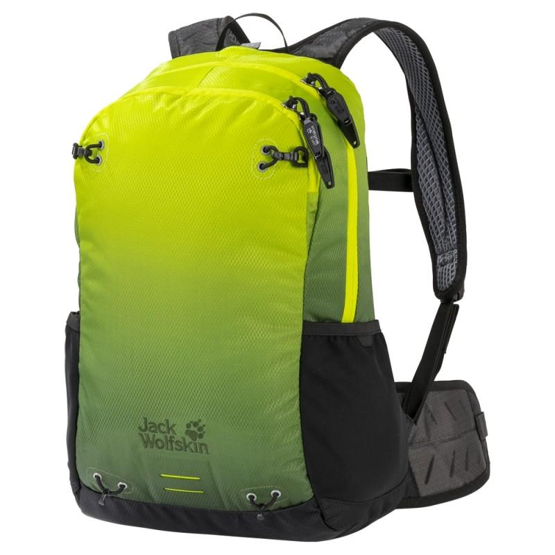 Купить Городские рюкзаки, Рюкзак halo 22 pack (2007221-8025), Jack Wolfskin, Лайм, Мультисезон, Весна-Лето 2019