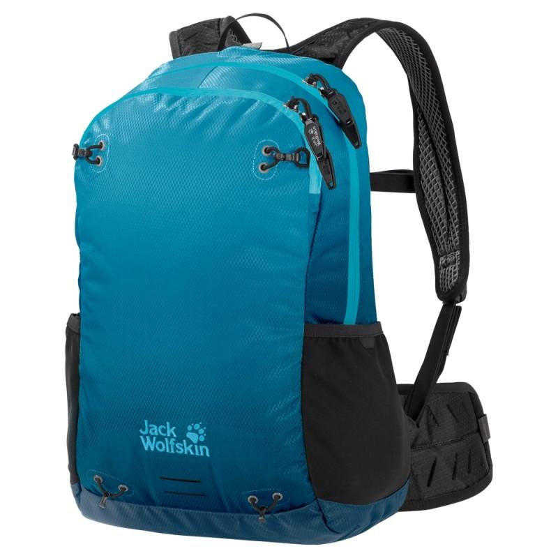 Купить Городские рюкзаки, Рюкзак halo 22 pack (2007221-8026), Jack Wolfskin, Бирюзовый, Мультисезон, Весна-Лето 2019
