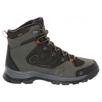 Фото Треккинговые ботинки COLD TERRAIN TEXAPORE MID M (4020501-5043), Цвет - хаки, Треккинговые ботинки