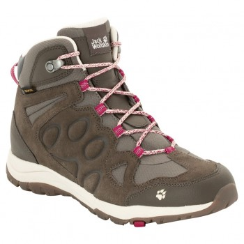 Фото Ботинки ROCKSAND TEXAPORE MID W (4022371-2501), Цвет - темно-рубиновый, Городские ботинки