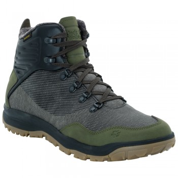 Фото Ботинки SEVEN WONDERS TEXAPORE MID M (4031791-5043), Цвет - хаки, Городские ботинки