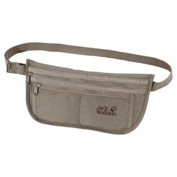 Фото Сумка DOCUMENT BELT DE LUXE (84370-590), Цвет - серебряный, Поясные сумки