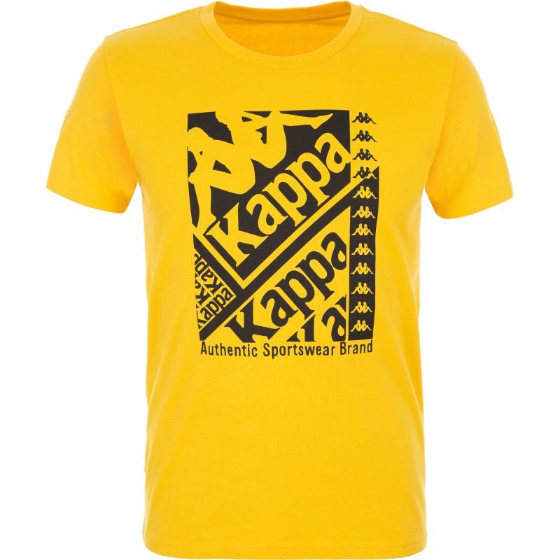 Купить Футболки, Футболка men's t-shirt (100758-61), Kappa, Желтый, Мультисезон, Осень-Зима 2019-2020