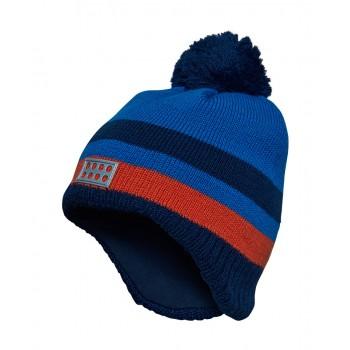 Фото Шапка ANDREW 713 - HAT (ANDREW 713 -590), Цвет - темно-синий, Шапки и повязки