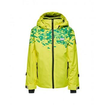 Фото Куртка горнолыжная JAKOB 880 - JACKET (JAKOB 880 -213), Цвет - желтый, Горнолыжные и сноубордные
