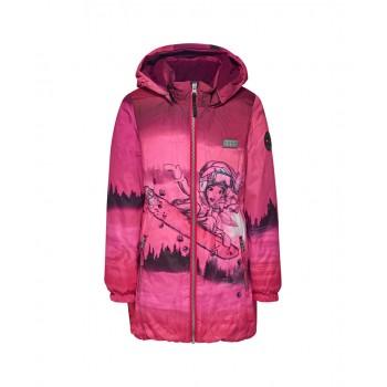 Фото Куртка утепленная JAMILA 731 - JACKET (JAMILA 731 -490), Цвет - темно- розовый, Городские