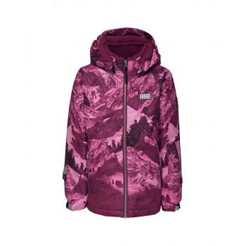 Фото Куртка горнолыжная JAMILA 778 - JACKET (JAMILA 778 -390), Цвет - бордовый, Горнолыжные и сноубордные