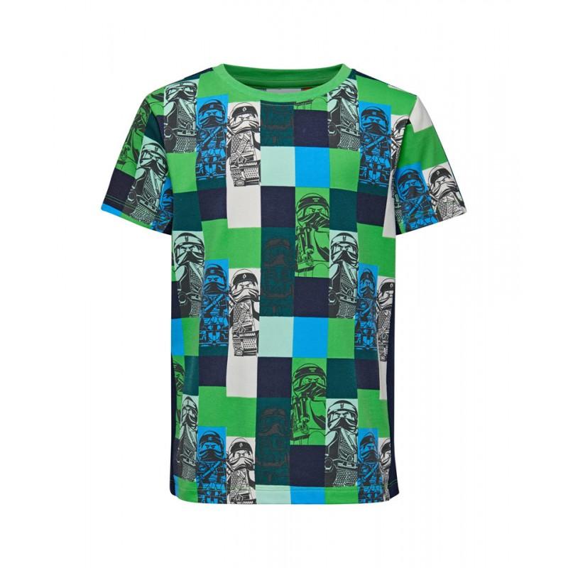 Футболки, Футболка tiger 111 (TIGER 111-859), Lego Wear, Зеленый, Весна-Лето 2019  - купить со скидкой