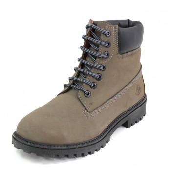 Фото Ботинки Ankle Boot (SM00101-014-M0002), Цвет - темно-серый, черный, Городские ботинки