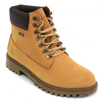 Фото Ботинки Ankle Boot Wpf (SM00101-015-M0001), Цвет - желтый, темно-коричневый, Городские ботинки