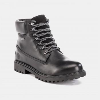 Фото Ботинки ANKLE BOOT WPF (SM00101-021-CB001), Цвет - черный, Городские ботинки