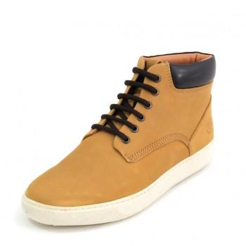 Фото Ботинки Ankle Boots (SM16101-004-CG001), Цвет - желтый, Городские ботинки