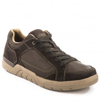 Фото Кеды Sneaker (SM17205-009-CE002), Цвет - темно-коричневый, Кроссовки