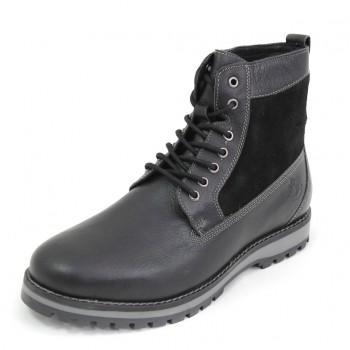 Фото Ботинки High Ankle Boot (SM33501-002-CB001), Цвет - черный, Городские ботинки