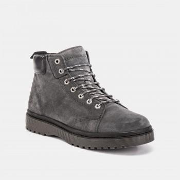Фото Ботинки ANKLE BOOT (SM51301-001-CD009), Цвет - серый, Городские ботинки